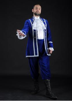 Барон в синем камзоле