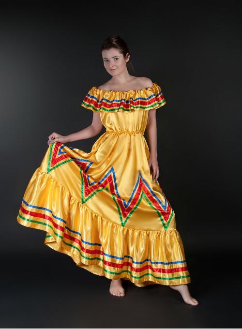 Мексиканское платье