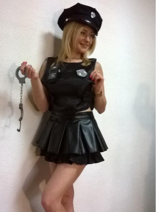 Милашка полицейская