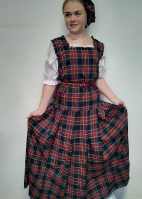 Шотландское платье